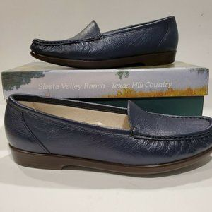 SAS Tripad Comfort Women's Navy Leather Loafer